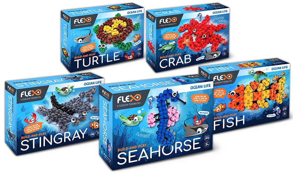 Ocean Life Series Boxes