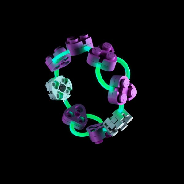 Pink Bracelet Build Glow In The Dark