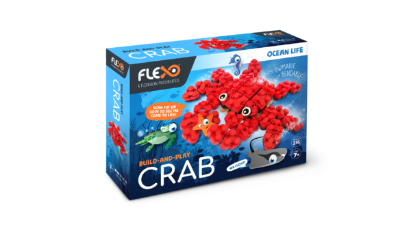 Crab Set Box Artwork