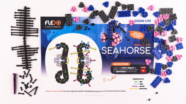 Seahorse Set Contents and Instructions