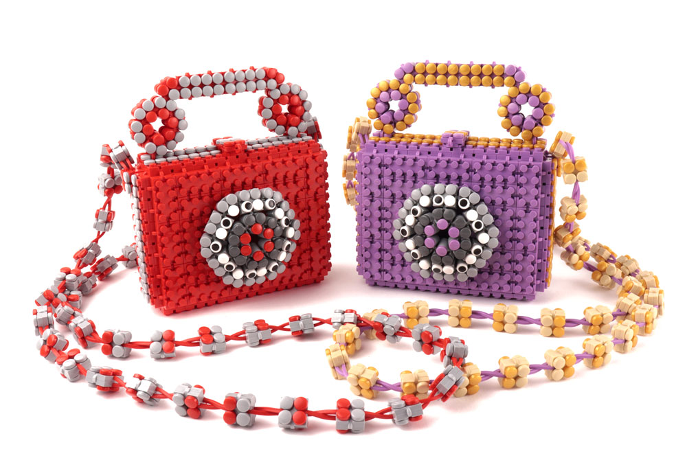 Two cute Flexo Telephone Bags